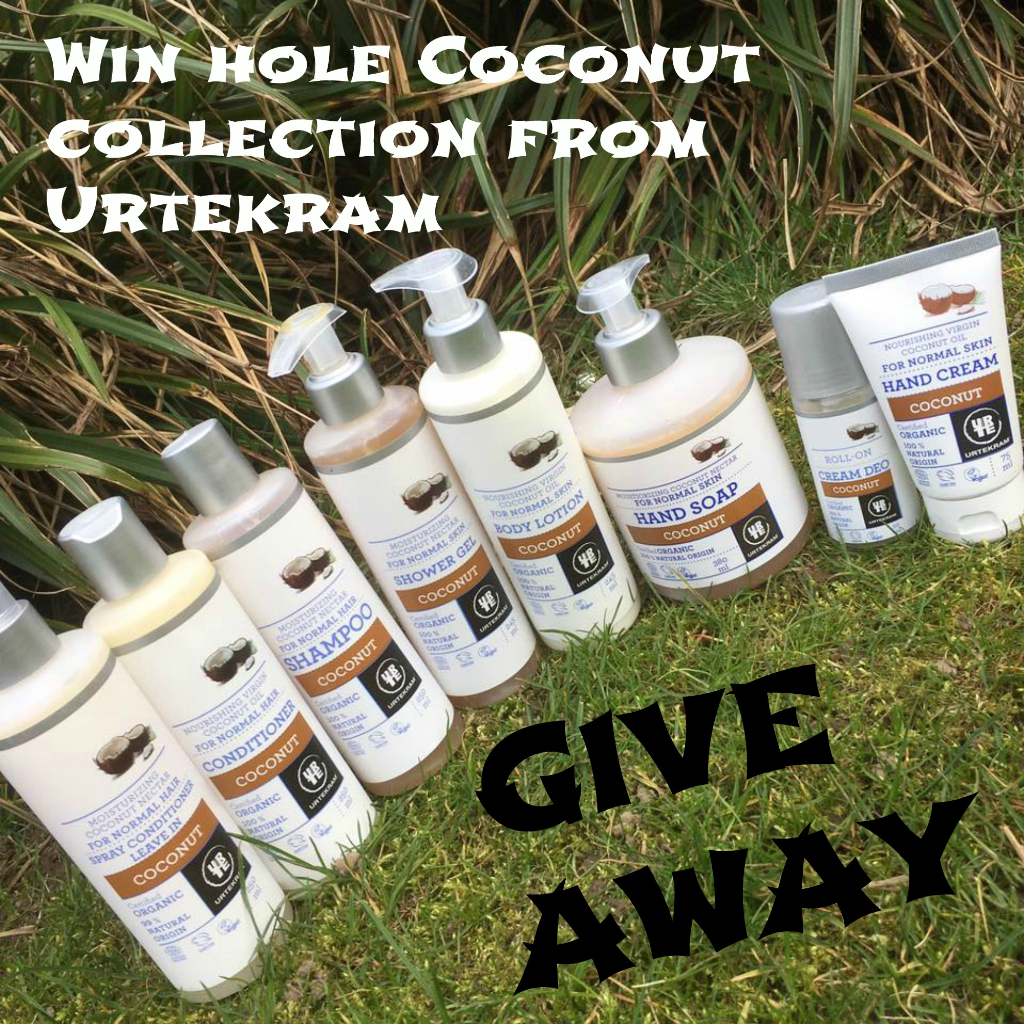 Coconut urtekram give away